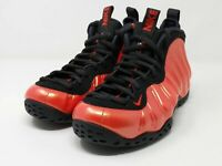New Men's Nike Air Foamposite One Sneakers Habanero Red 314996-603 Size 7.5