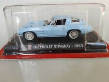 CHEVROLET STINGRAY 1963 1/43 VOITURE MINIATURE COCHES DIECATS  AUTO CARS