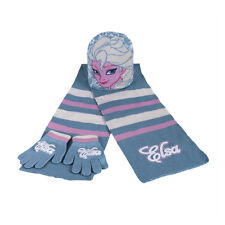 FROZEN set 3 pieces scarf+hat+mitts from girl