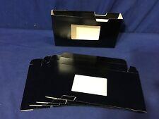 5-Pack VHS SLEEVES Black w/ Window Side Loading DA3VBLK FREE SHIP US SELLER