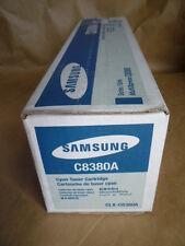 Samsung Cyan Toner Cartridge (CLX-C8380A) Genuine