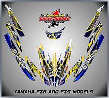 YAMAHA FZR FZS Graphics Kit Jet Ski Graphic Kit Decals Jetski MIKE
