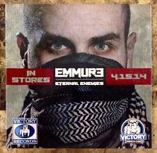 EMMURE Eternal Enemies 2014 RARE NEW Sticker +FREE Metal Hardcore Stickers
