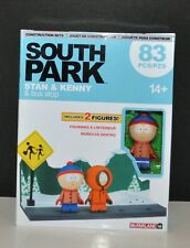 New In Box! South Park Stan Kenny Bus Stop Construction Set McFarlane. FREE Ship
