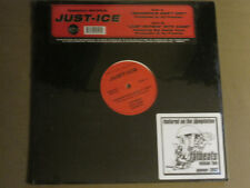"""JUST-ICE GANGSTA'S DON'T CRY / JUST RHYMIN' WITH KANE 12"""" DJ PREMIER RAP SEALED!"""