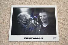 Fantômas signed autographe 20x25 CM en personne patton (Faith No More), Lombardo