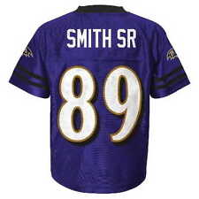 (2016-2017) Baltimore Ravens STEVE SMITH SR nfl Jersey YOUTH KIDS BOYS (xl)