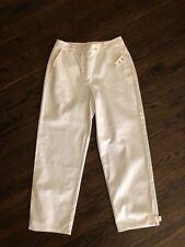 NWT Talbots White Ankle Length Capri White 100% Cotton Pants