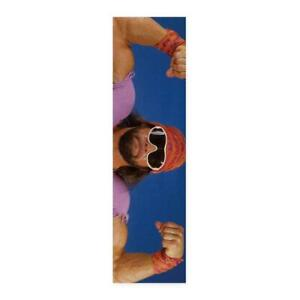 Enjoi Randy Macho Man Savage Grip WWE Skateboard Griptape