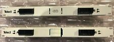 New listing Telect 60A Dual-Feed 10/10 Gmt Fuse Panel, Compact (Lot of 2)