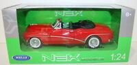 Welly NEX 1/24 Scale 24027W - 1953 Buick Skylark - Red - Top Down