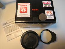 SIGMA SLD DC OS 3,5-6,3/18-250 für Canon EF-S mit OVP