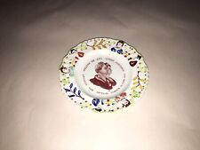 Staffordshire  Children's Plate William IIII And Queen Adelaide 1830's Royalty