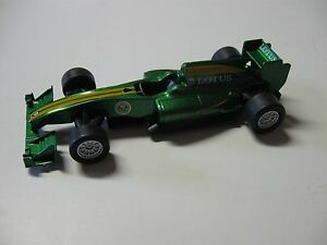 LOTUS T125 PLASTIC RACER PULLBACK BY WELLY W/O BOX