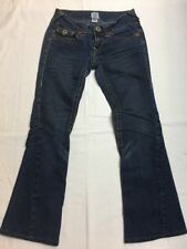 True Religion Women's Dark Wash Bootcut Jeans, Size 27 x 29 EUC