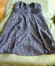 American Eagle strapless dress size 4 blue cute