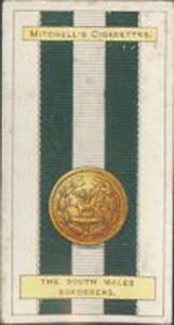 Mitchell - Army Ribbons & Buttons - 16 - The South Wales Borderers