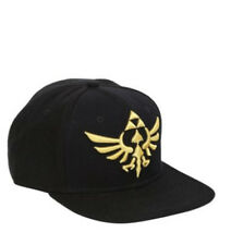 Nintendo Zelda Black Snapback Legend of Link to the Past Hat Baseball Cap