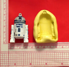 Star Wars R2-D2 Silicone Push Mold A815 For Candy Chocolate Craft Fondant Wax