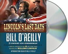 """""""Lincoln's Last Days"""" Audio Book on 4 CDs by Bill O'Reilly"""