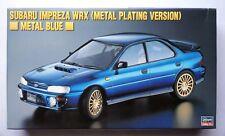 HASEGAWA 1/24 SUBARU Impreza WRX metal blue plating ver #20216 scale model kit