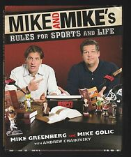 Mike and Mike's Rules for Sports and Life by Mike Golic, Mike Greenberg, Signed