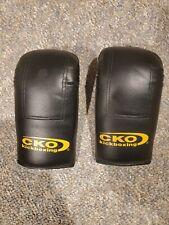 CKO Kickboxing Boxing Gloves Black Size S