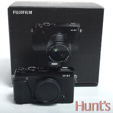 FUJI FUJIFILM X-E1 16.3MP MIRRORLESS DIGITAL CAMERA  - BODY ONLY