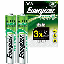 2x Energizer Power Plus BATTERIE RECHARGEABLE AAA MICRO NIMH 700 mAh