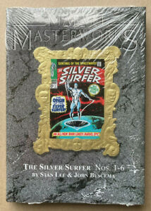 Marvel Masterworks Silver surfer Vol 15, #1-6 Deluxe edition HC 2nd print