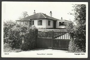 Postcard Nailsea nr Bristol Avon Somerset bungalow Rest a While house RP
