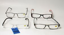 4 Cheetah Readers Fashion Reading Glasses +1.75 New With Tags Rhinestone Wires
