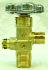 """SHERWOOD CO2 VALVE FOR STEEL TANKS - 0.750"""" NGT TAPERED THREAD"""