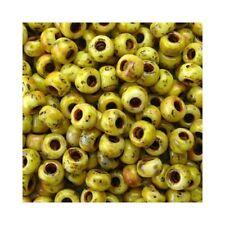 Miyuki Seed Beads 11/0 Matte Picasso Canary 11-4512 23g Round Yellow