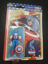 Hasbro Kenner Marvel Legends Retro Captain America Figure New 2021 CARD NOT MINT