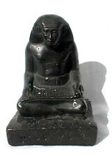 "Antique Egyptian Revival ""Amenhotep"" Metal Skin Figure"