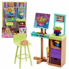 Atelier Set & Zubehör | Barbie | Mattel FJB26 | Einrichtung Haus Möbel