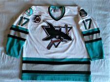 CCM Authentic Pat Falloon San Jose Sharks jersey 54 90s vintage inaugural season