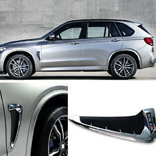 New Air Vent Side Body Marker Fender Trim Cover Mark For BMW X5 F15 2014-2017