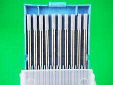 3.2mm WC20  2% Cerium Tungsten Electrode Blue Tip Bobthewelder Australia OZZY