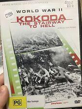 World War 2 Kokoda The Stairway To Hell ex-rental region 4 DVD (WW2 documentary)
