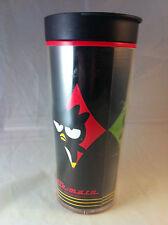 Rare! 2002 Sanrio Badtz Maru Tumbler Coffee Travel Mug Plastic Cup- Hello Kitty