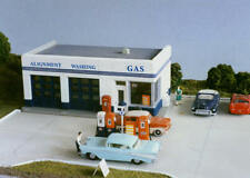 City Classics 108 HO Crafton Ave Service Gas Station Kit       MODELRRSUPPLY-com