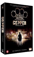 COPPER : THE COMPLETE HBO SEASON 1 - DVD - PAL Region 2 - New