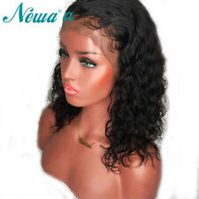 360 Lace Frontal Wig Curly Malaysian virgin 100 Human Hair Wigs Pre Plucked