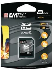 EMTEC 8GB SDHC Class 10 Memory Card EKMSD8G150XHC (NEW, UNOPENED)
