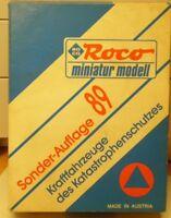 Roco 2855 H0 1:87 THW- Set / Katastrophenschutz Sonderauflage 1989 neuwertig