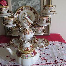 Royal Albert Bone China 'Lady Hamilton' 22 piece Tea Service -  1st Quality