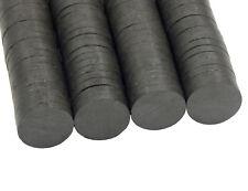 25 Ferritmagnet Schwarz 17mm x 3mm Werkeln Basteln und Deko Magnette BEST DEK83
