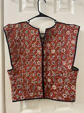 isabel marant Etoile Linen Cotton Vest Sz 44